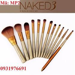 Bộ cọ trang điểm 12 cây NAKED - MP2