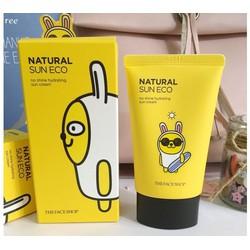 Kem Chống Nắng Natural Sun Eco Sun Cream SPF40 PA Kakao Friends