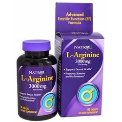 viên tăng cường cơ bắp và ham muốn tình dục Natrol L-Arginine