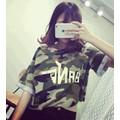 áo thun nữ rằn ri bang Mã: AX2866 - 1