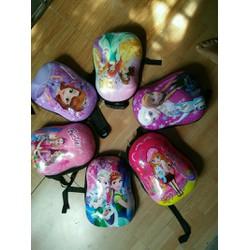 ba lô trứng họa tiết đáng yêu cho bé gái