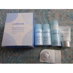 Set mini làm trắng da Laneige 5 sản phẩm