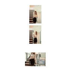 Set áo cutout chân váy ôm TH08458