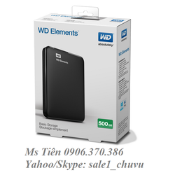 Ổ cứng WD Elements 500GB USB 3.0