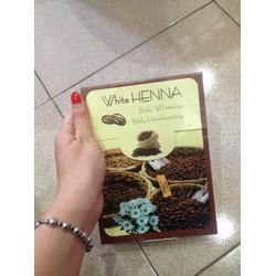 Tắm trắng cà phê  white henna