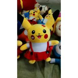 Thú nhồi bông Pikachu áo