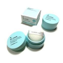Phấn phủ bột oil clear blotting powder the face shop