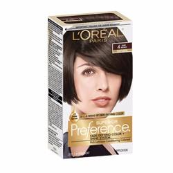 Thuốc nhuộm tóc LOréal Superior Preference, 4 Dark Brown
