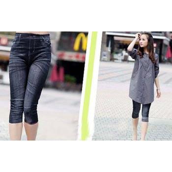 Quần Legging lửng giả Jeans thời trang