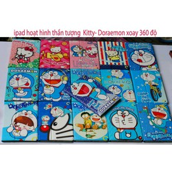 Bao da ipad GIGULF hoạt hình Hello Kitty- Doraemon