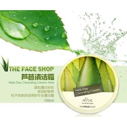 Kem tẩy trang Herb day cleansing cream The Face Shop-lô hội