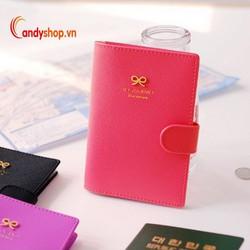Bao đựng hộ chiếu - passport cover PP3 candyshop88.vn