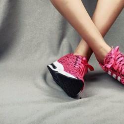 Giày thể thao nữ vải chần loang độn đế | Free ship tại Đà Lạt, Huế,...