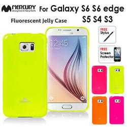 Ốp lưng Galaxy S6 edge Plus, Dẻo, nhiều màu, hiệu MERCURY