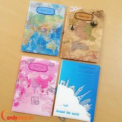 Bao đựng hộ chiếu - passport cover 3D PP16 candyshop88.vn