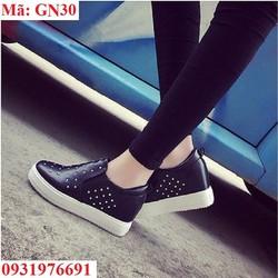 Giày bánh mì đế cao 5cm hàn quốc -GN30