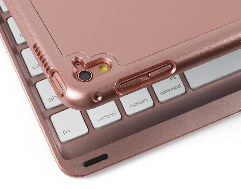 Bàn phím Bluetooth iPad Air Pro 9.7 pin sạc keyboard tích hợp LED 6