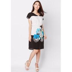 Đầm mặc nhà họa tiết hoa sang trọng