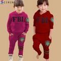 Bộ Đồ FBI Dài Tay Kute Ấm Áp Cho Bé