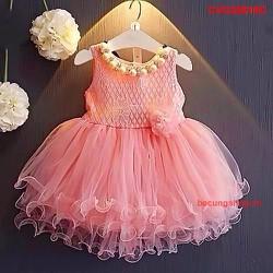Đầm ren cực xinh cho bé điệu đà từ 1-8 tuổi_CVG20818