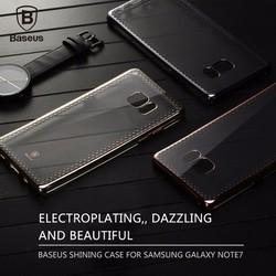 Ốp lưng Samsung Galaxy Note 7 Baseus silicon viền màu