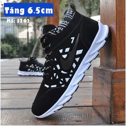 Giày Tăng Chiều Cao Nam 6.5cm TINTO 3202DE