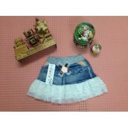 Chân váy Jean bé gái CV001