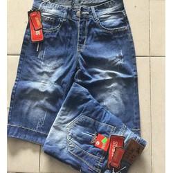 Quần Jean Short Nam Wash rách
