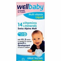 Vitamin tổng hợp cho bé Wellbaby infant liquid 150ml