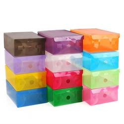 Combo 10 hộp nhựa đựng giầy trong suốt