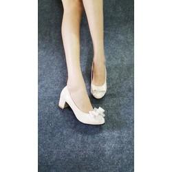giày đế vuông 5p