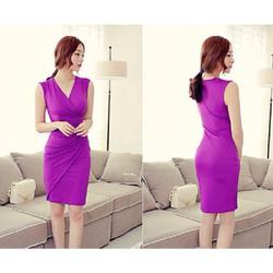 Free Ship toàn quốc-Đầm ôm body violet 58-hot sale