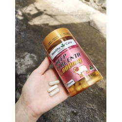 100 Viên uống nhau thai cừu Healthy Care Sheep Placenta 5000mg