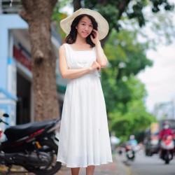Đầm xòe duyên dáng cho cô nàng tiểu thư 7MV03