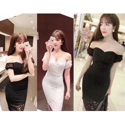 Đầm ren ôm body cúp ngực quyến rũ - AV5053