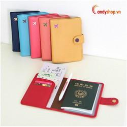 Bao đựng hộ chiếu - passport cover PP6 candyshop88.vn