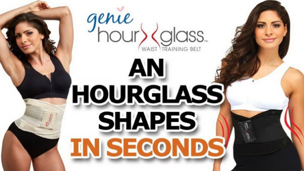 Đai gen bụng Genie Hour Glass 1