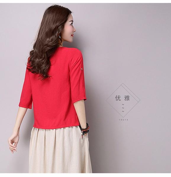 Hàng nhập chất liệu cao cấp áo nữ phong cách nhật SSM38 5