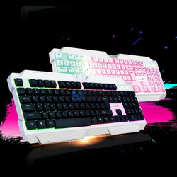Bàn phím đèn LED chơi game có dây R288