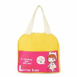Túi đựng cơm xinh xắn cô gái mẫu mới - Giá Cực Sốc