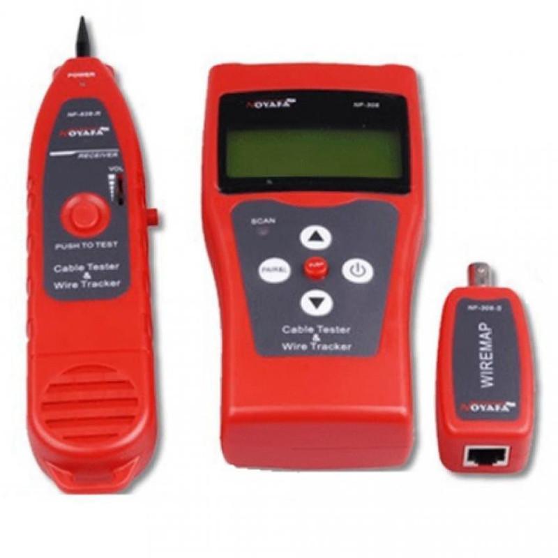 Máy test cáp mạng đa năng chính hãng Noyafa NF-308 1