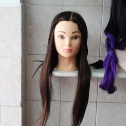 đầu manocanh  tạo kiểu tóc