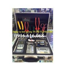 Bộ dụng cụ làm quang TE-NETLINK F-506, Chuyên dùng cho thi công mạng