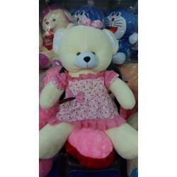 Gấu Đầm nhồi bông