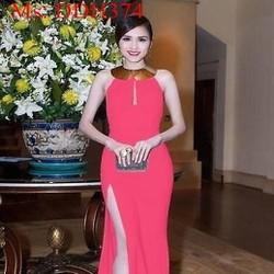 Đầm dạ hội xẻ đùi quyến rũ thiết kế sang trọng DDH374