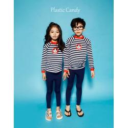 Set áo tay dài quần dài bơisọc in mickey cho cả bé trai và gái