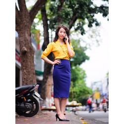 Chân váy bút chì tôn dáng phái đẹp 7MC02