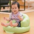Ghế hơi tập ngồi, tập ăn siêu tiện lợi cho bé