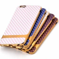 Ốp Lưng Cho iPhone 4-5-6-6+ dẻo sọc caro đa họa tiết