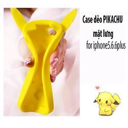 Ốp thú nổi 3D hình Pikachu